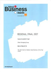 Regional Finals 2007 - The Business Innovation of the Year Awards
