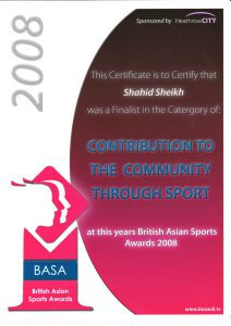 BASA - British Asian Sports Award
