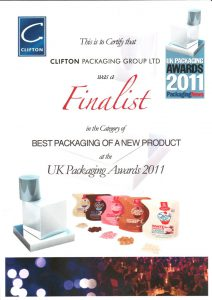 UK Packaging Awards 2011
