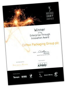 Winners of the Enterprise Through Innovation Award