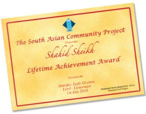 Community Project - Lifetime Achievements Awards