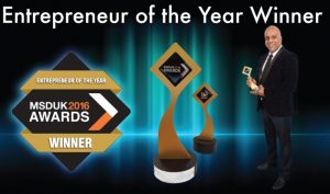MSDUK 2016 AWARDS Entrepreneur Winner