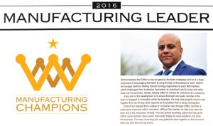 Manufacturing Champions 2016