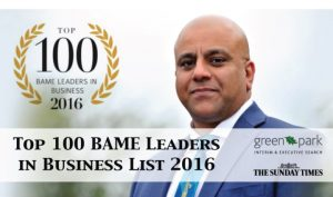 Top 100 BAME Leaders In Business List 2016