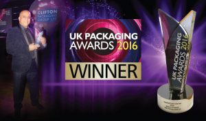 UK Packaging Awards Winners 2016