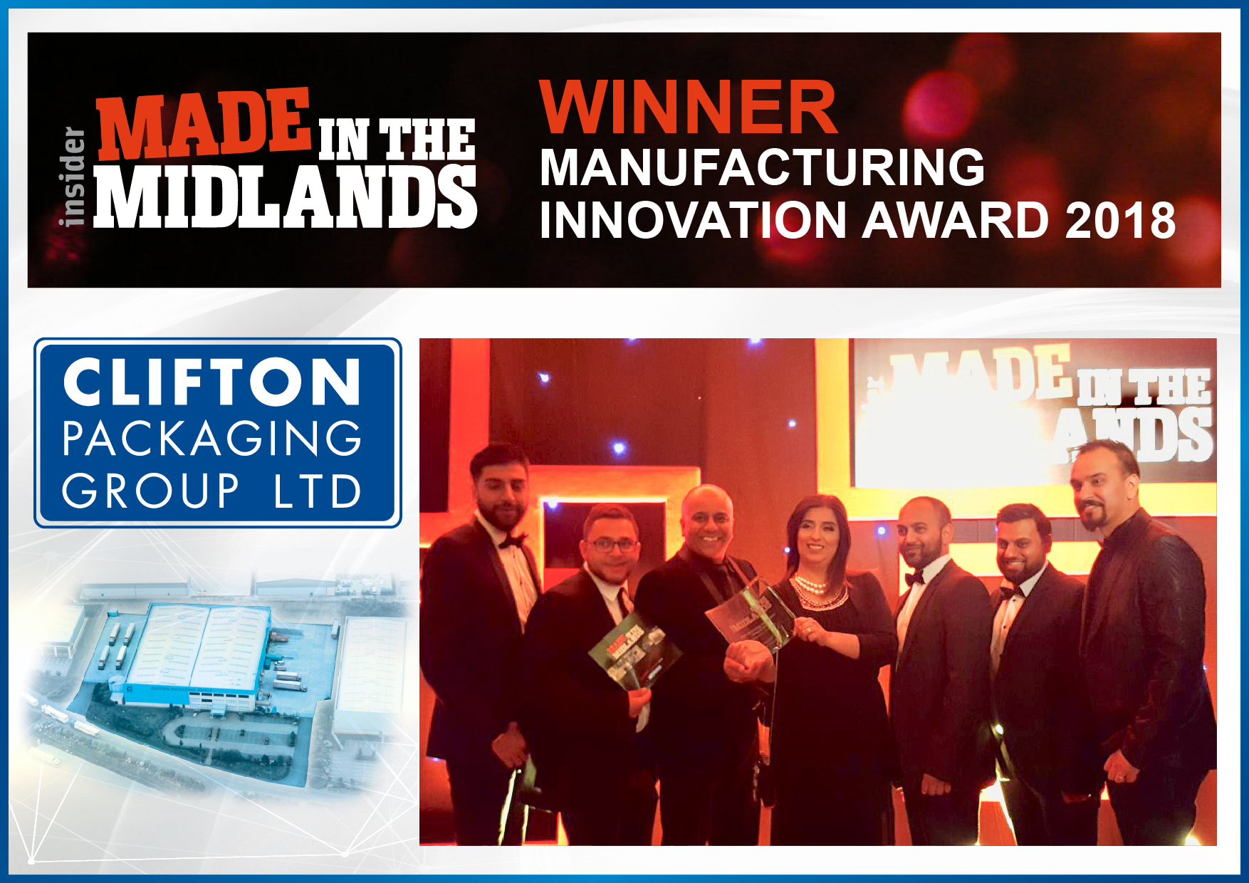 Made in the Midlands WINNER 2018