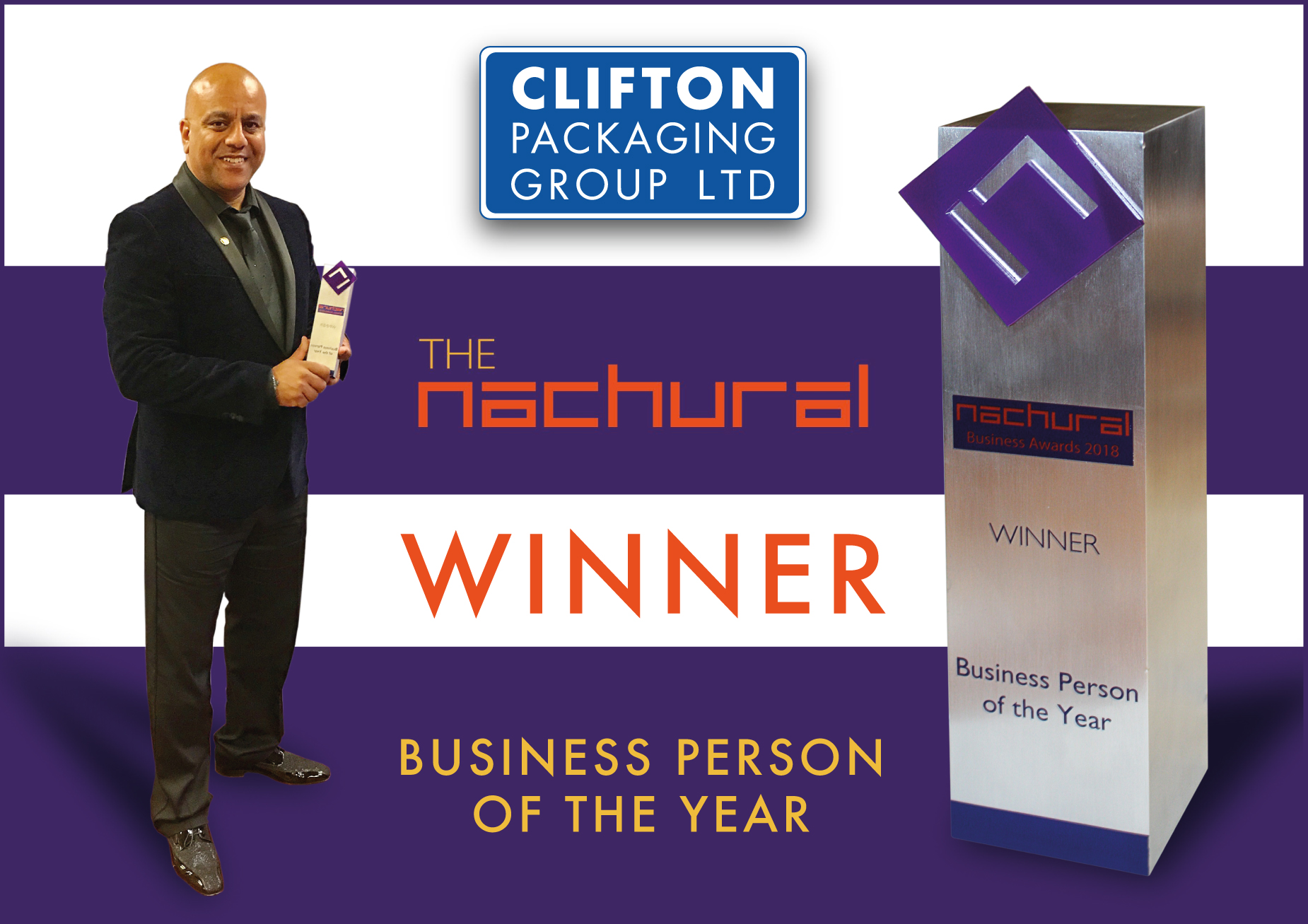The Nachural Business Awards 2018, Business Person of the Year 2018
