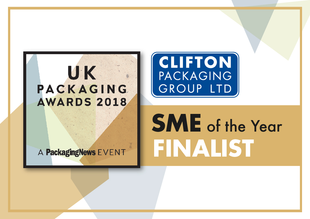 UK Packaging Awards 2018 SME of the Year Finalist